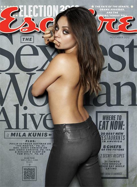 Мила Кунис – самая сексуальная женщина по версии Esquire