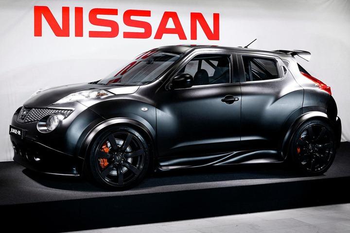 В Nissan построили Juke R с двигателем от GT R R35