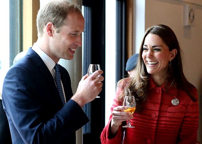 Королевская семья в Шотландии