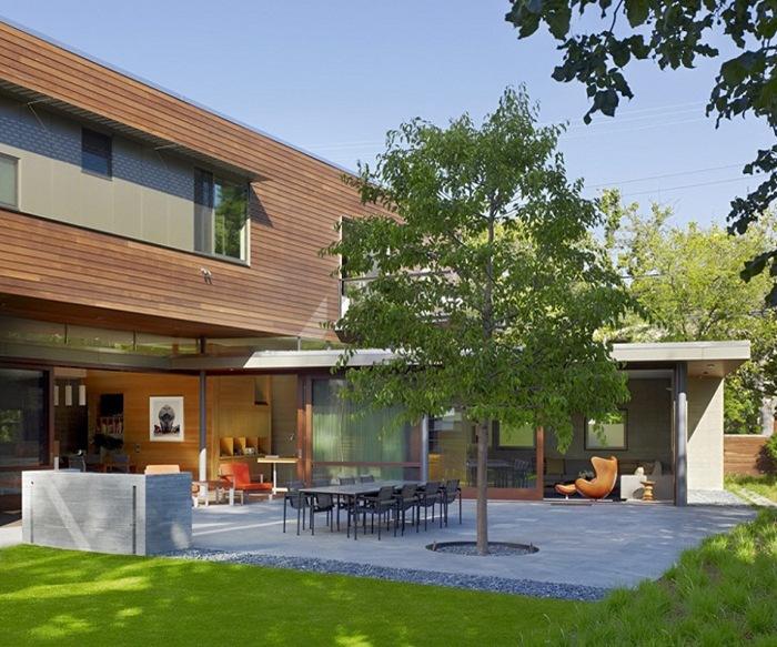 Семейный дом в Калифорнии, вдохновляющий баланс и комфорт