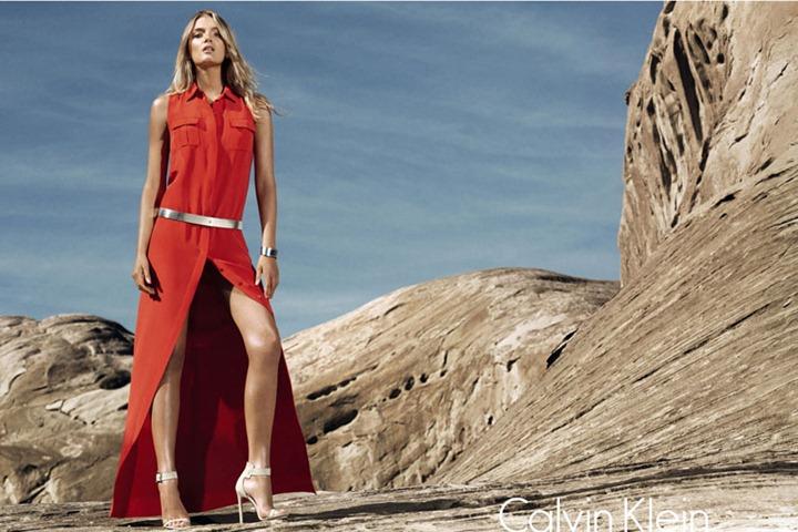 Рекламная кампания Calvin Klein весна лето 2012
