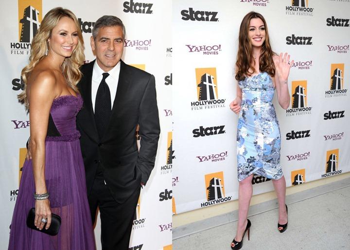 Звезды на Hollywood Film Awards 2011