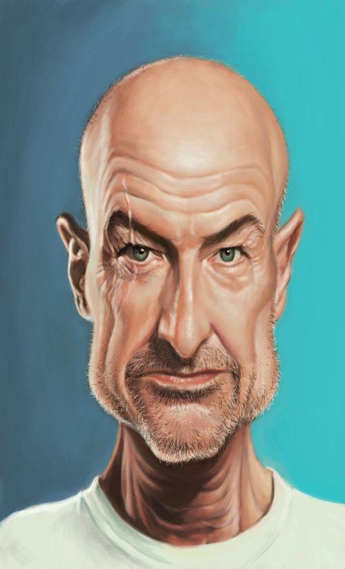 Карикатуры на знаменитостей от Mark Hammermeister