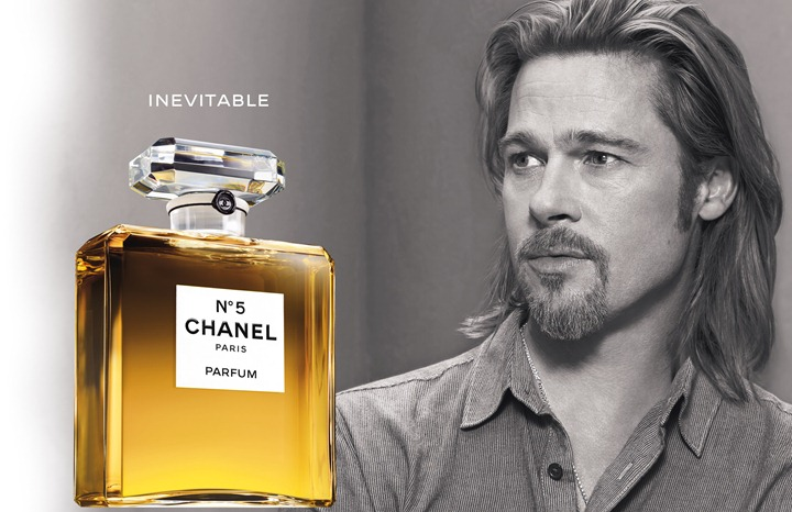 Рекламный ролик Chanel №5 с Брэдом Питтом