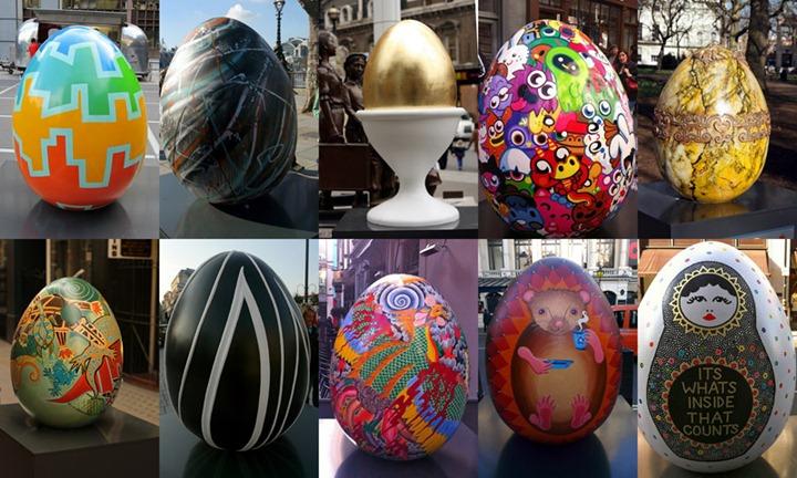 Большая пасхальная охота за яйцами в Лондоне