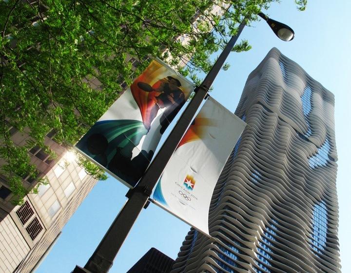 Небоскреб Аква в Чикаго