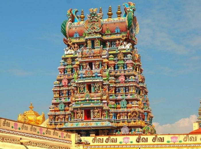 Храм Минакши. Индия