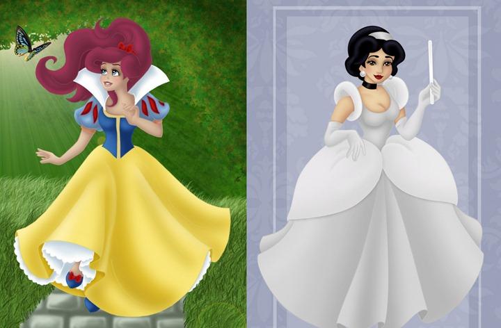 Про диснеевские принцессы лучшие