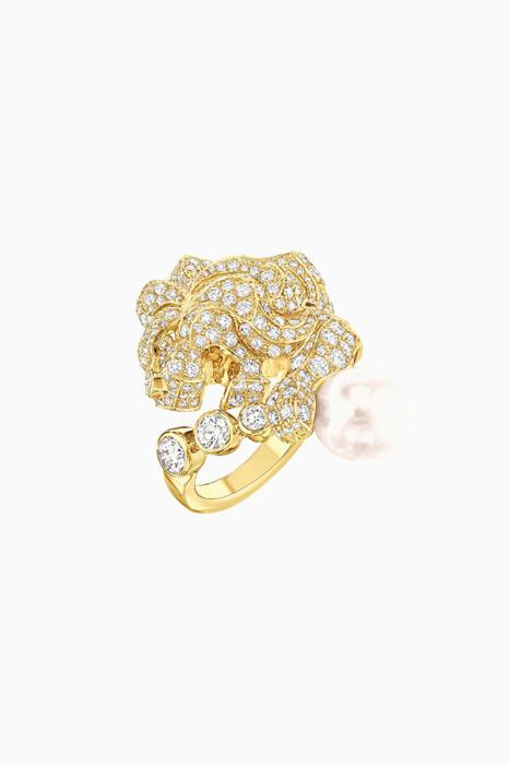 Украшения: чистые бриллианты в Chanel Lion