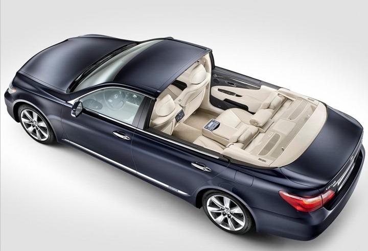 Lexus LS 600h L Landaulet для принца