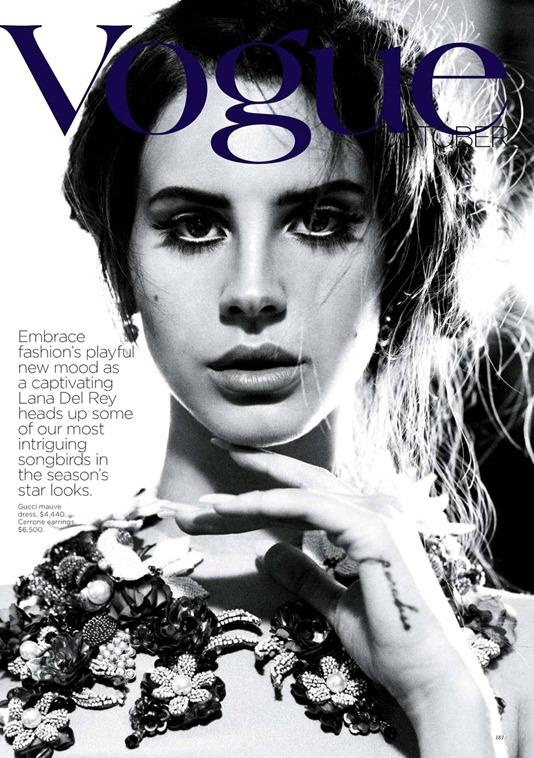 Элегантная Лана Дель Рэй в Vogue