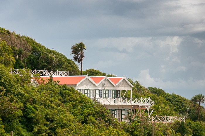 Остров Саба в Карибском море