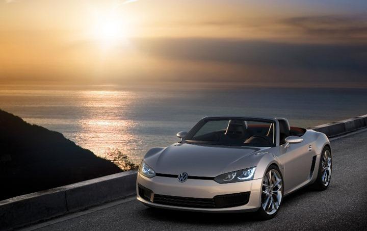 """Volkswagen готовит очередного """"убийцу Porsche"""" BlueSport roadster"""