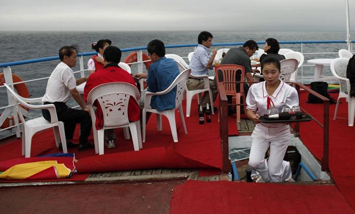 Северная Корея открывает для себя мир круизного туризма