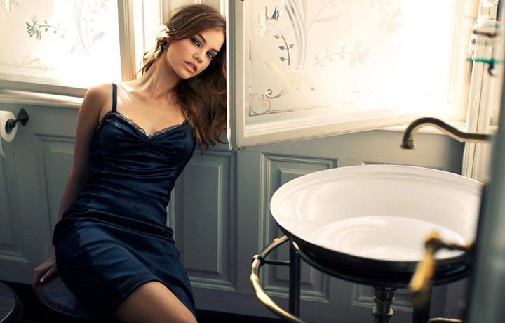 Барбара Палвин на обложке Elle  октябрь 2011