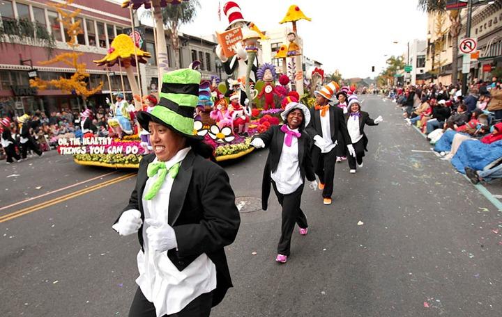 Парад роз в Пасадене 2013