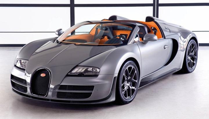 Самый быстрый родстер в мире от Bugatti