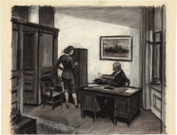 Эскизы Эдварда Хоппера