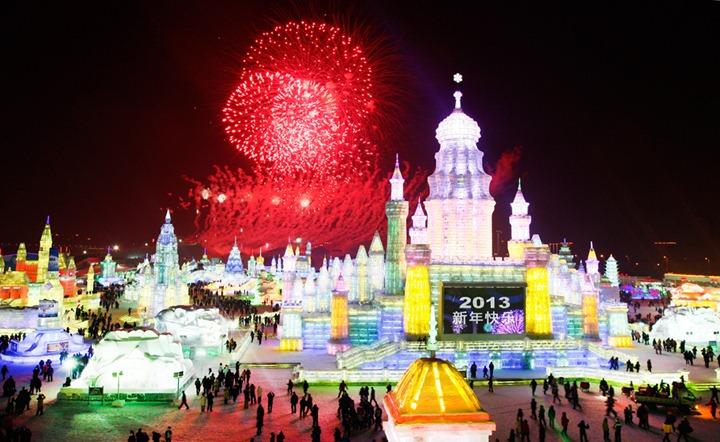 Международный фестиваль снега и льда 2013
