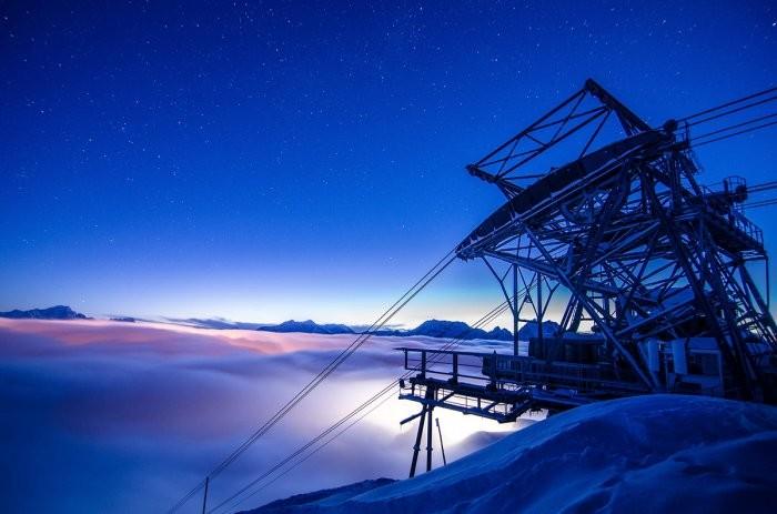 Отель в горах на высоте 2700 метров