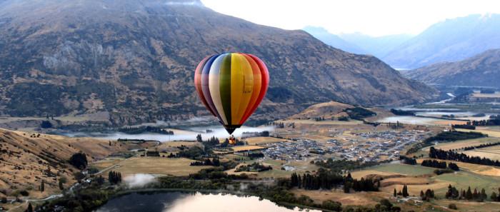 Топ: 5 лучших мест для полета на воздушном шаре