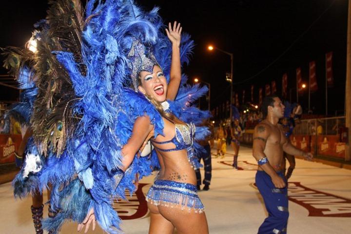 """Стартовал карнавал """"Llamadas"""" в Латинской Америке"""