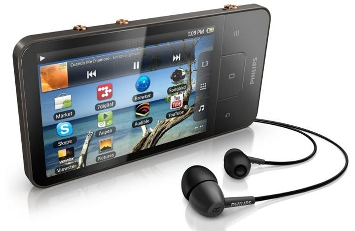 Компания Philips выпустила плеер на Android 2.3