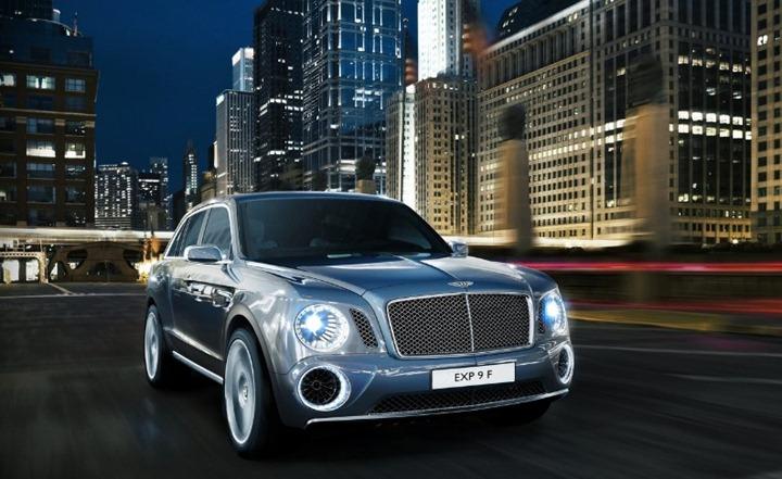 Первый внедорожник от Bentley удивил весь автомир