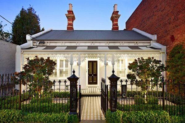 Современный дом в викторианском стиле в Мельбурне, Австралия