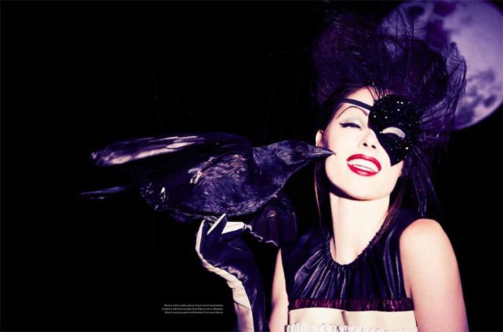 Полнолуние вместе с супермоделью Коко Роша в Vs. Magazine