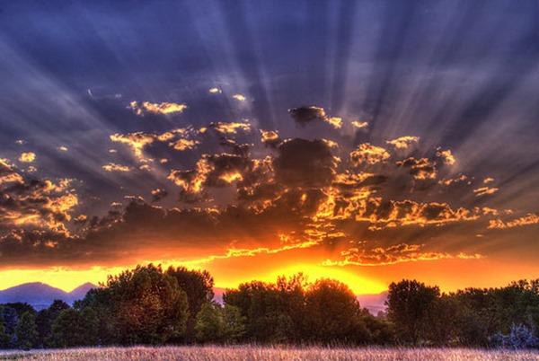 Великолепная коллекция фотографий облаков и солнца