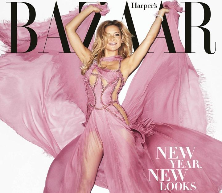 Кейт Хадсон для Harper's Bazaar