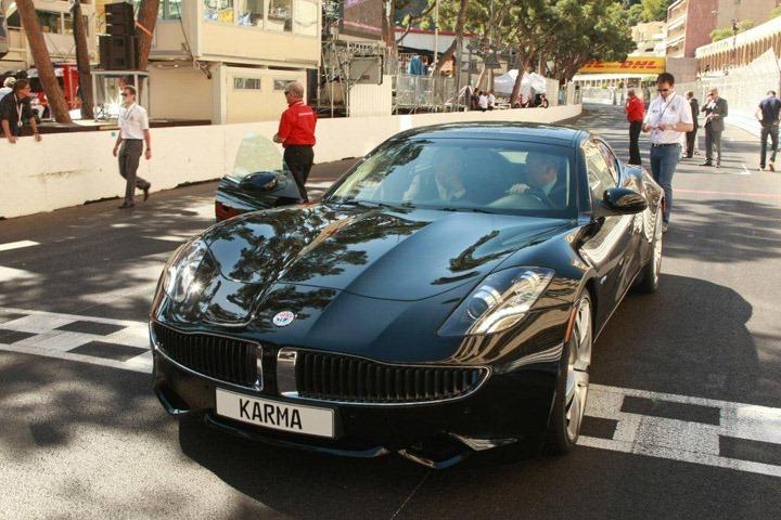 Fisker Karma   автомобиль будущего