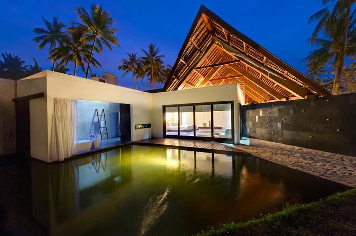 Тропическая вилла в Индонезии
