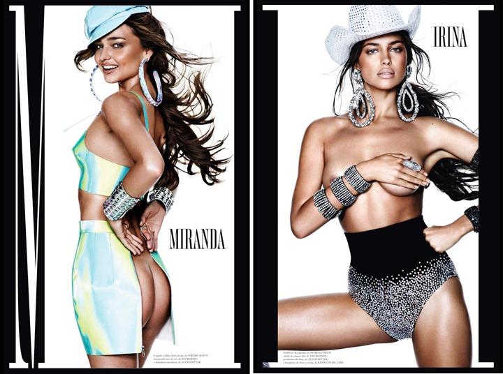 Супермодели в Vogue Espana