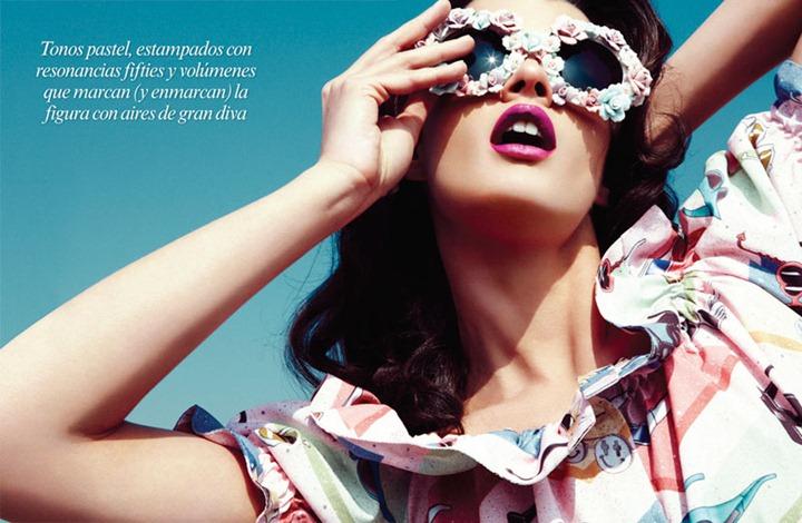 Кристал Ренн для майского номера Vogue