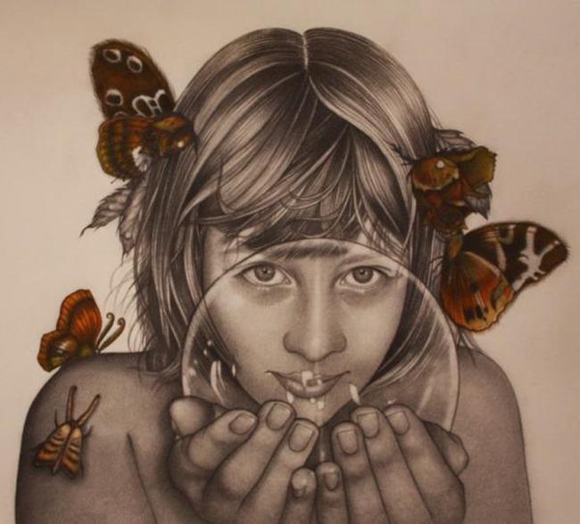 Причудливые иллюстрации, Alessia Iannetti