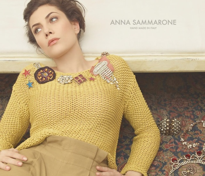 Анна Саморон (Anna Sammarone) весна/лето 2013