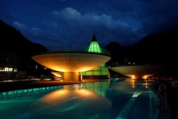 Термальный комплекс Aqua Dome в Австрии