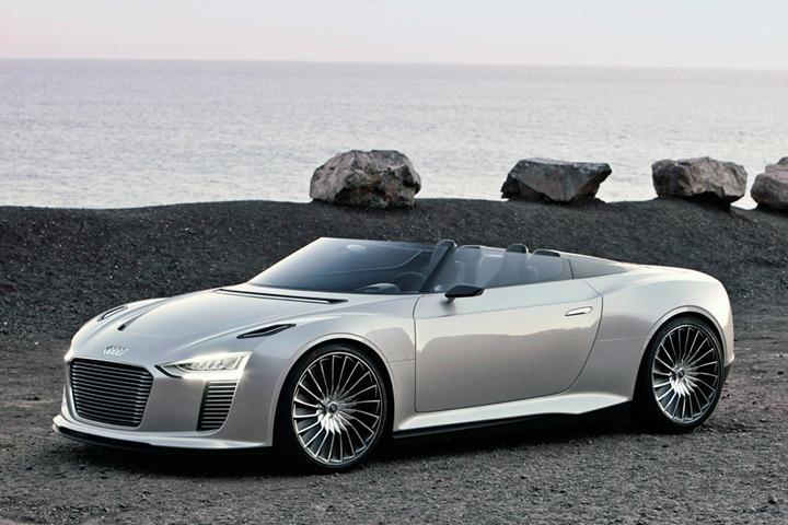 Audi E Tron Spyder: экономичная мощность