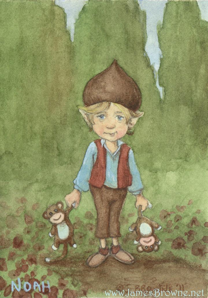 Джеймс Браун – сказочный художник иллюстратор