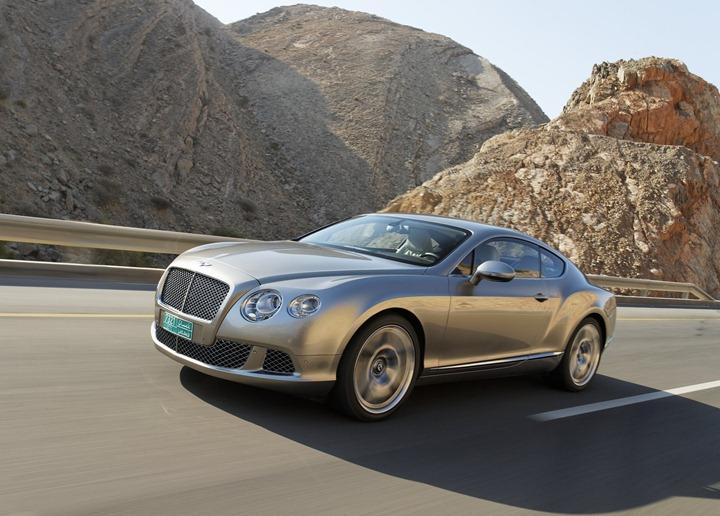 Bentley представит в Детройте новые Continental V8