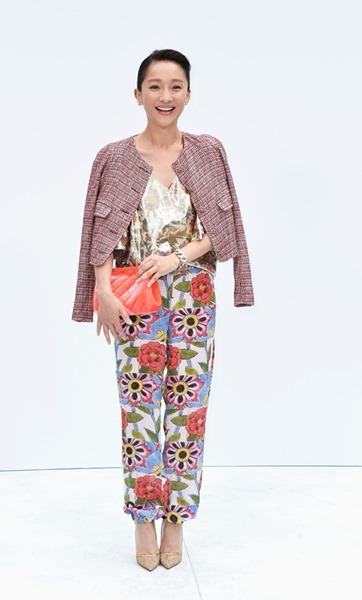 Знаменитости на Неделе Высокой Моды: показ Chanel