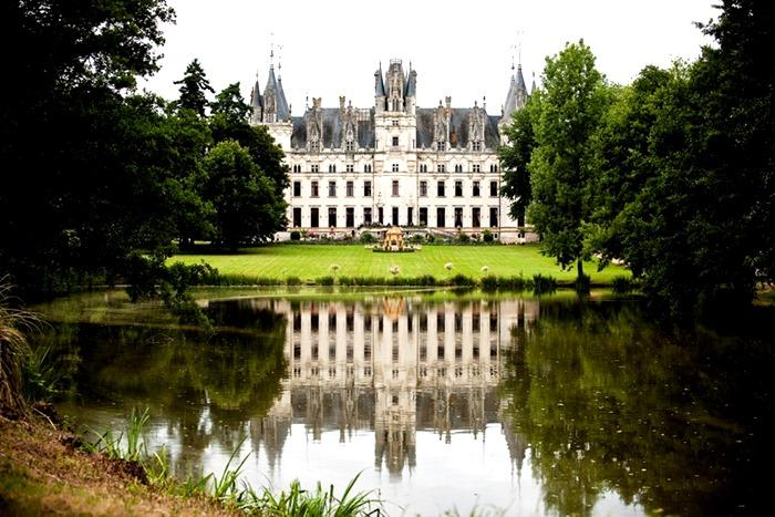 Свадьба в замке Chateau Challain (Франция)