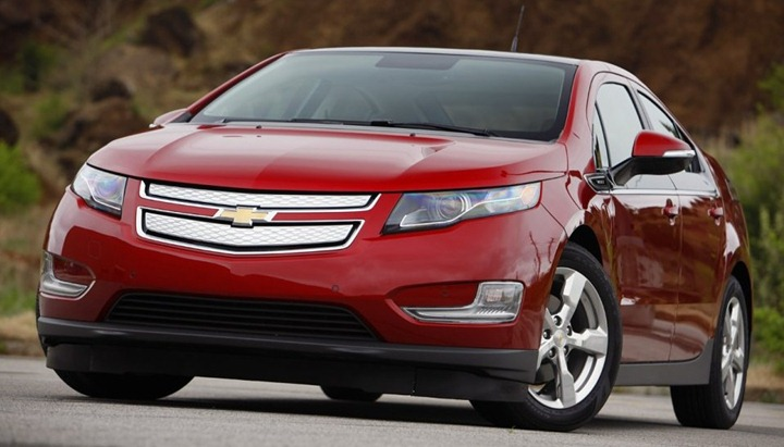 Chevrolet Volt – будущее за электрокарами!
