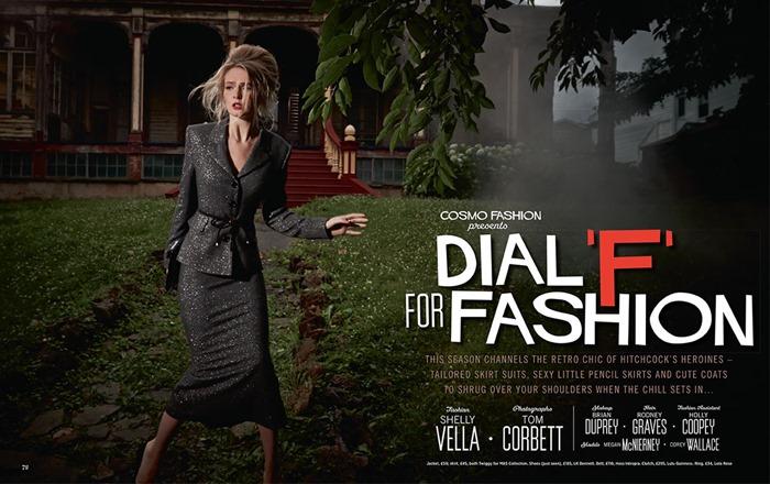 Дебютный номер журнала Cosmopolitan Fashion U.K.