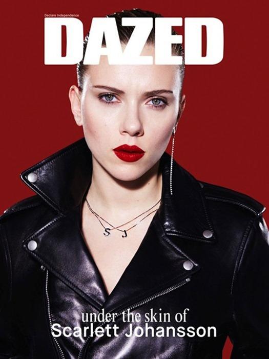 Скарлетт Йоханссон для Dazed & Confused (весна 2014)