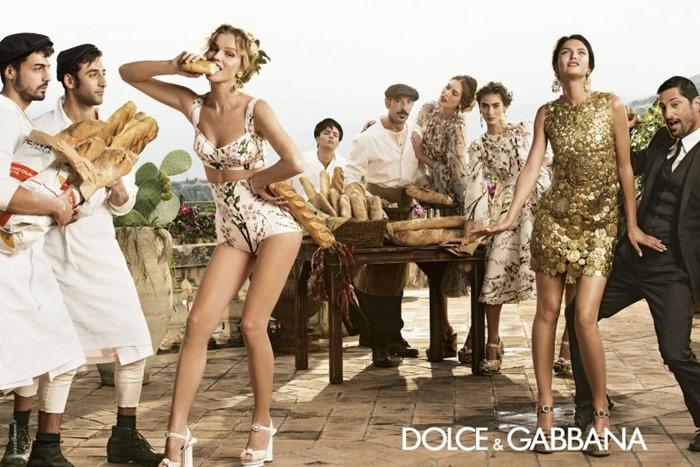 Рекламная компания Dolce & Gabbana (весна 2014)