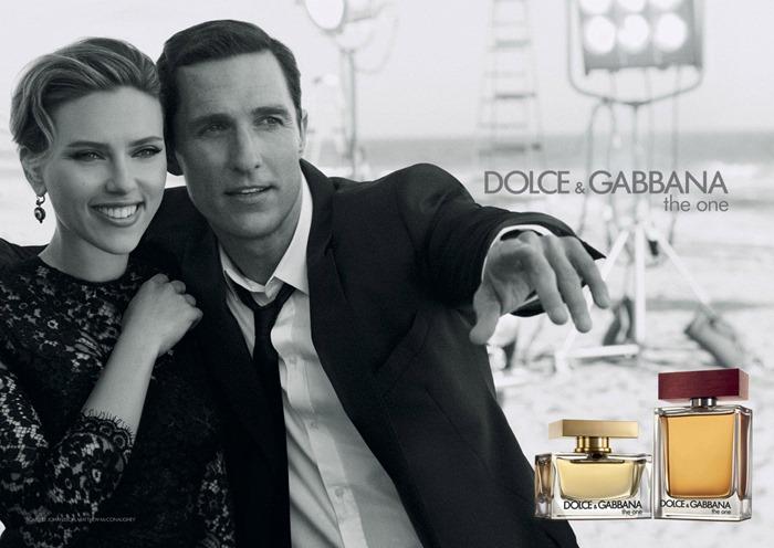 Скарлетт Йоханссон и Мэтью Макконахи для Dolce & Gabbana