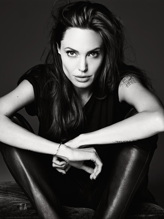 Анджелина Джоли для Elle US